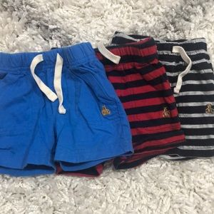 Baby boy shorts- 3 pack